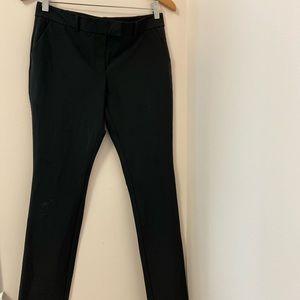 Black Dress pants.Size:6US. 90% poly, 10% elastane